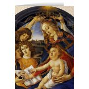 Madonna of the Magnificat by Botticelli Christmas Cards (25 Cards)