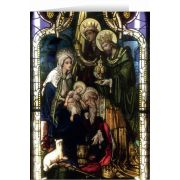 Wisemen Stained Glass Christmas Cards (25 Cards)