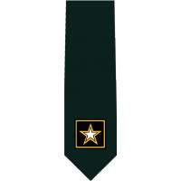 US Army Standard Glossy Poly Satin Necktie