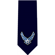 Air Force Standard Glossy Poly Satin Necktie