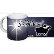 We Believe Ceramic 11 oz 11 Oz Mug