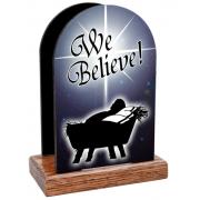 We Believe Table Organizer (Vertical)