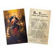 Spanish Mary Undoer of Knots 'Madre del Amor' Prayer Holy Card