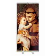 Saint Anthony Banner Stand