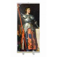 Saint Joan of Arc Banner Stand