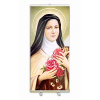 Saint Therese of Lixieux Banner Stand