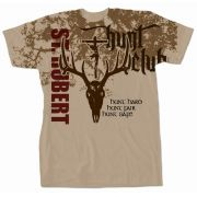 Saint Hubert of Liege Graphic T-shirt