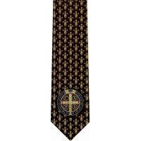 Benedictine Cross Christian Catholic Themed Neckties