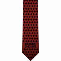 Abortion Crosses Christian Silk Neckties