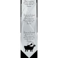 Isaiah 7:14 Catholic Themed Silk Necktie