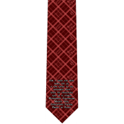 Isaiah 9:6 Catholic Themed Silk Necktie