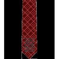 Isaiah 9:6 Catholic Themed Silk Necktie