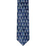 Marian Symbol Pattern Glossy Poly Satin Necktie