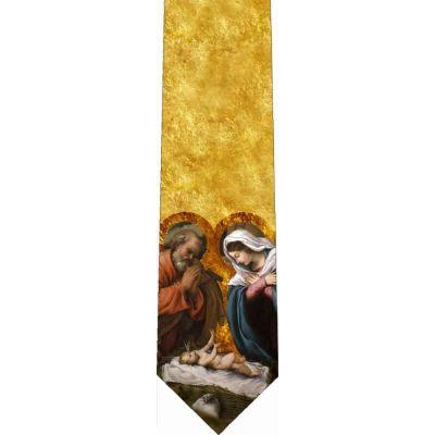 Nativity Christian Catholic Themed Neckties -  - TIE-818