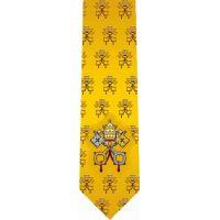 Vatican Glossy Poly Satin Necktie