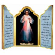 Divine Mercy Vilnius Original Triptych Plaque