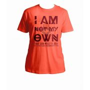 I Am Not My Own: Saint Kateri Quote Coral T-Shirt