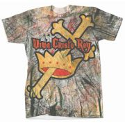 Viva Cristo Rey Graphic Poly T-Shirt