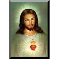 Sacred Heart (Traditional) Wall Plaque