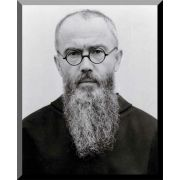 Saint Maximilian Kolbe (Portrait) Wall Plaque