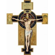Benedictine Wall Crucifix