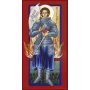 Saint Joan of Arc Icon Wall Plaque (8x16)