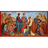 The Feeding of the Five Thousand Icon Wall Plaque