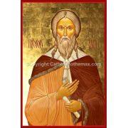 The Holy Prophet Elijah (Saint Elias) Icon Wall Plaque