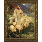 Good Shepherd - Gold Framed Wall Art