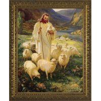 Good Shepherd - Gold Framed Wall Art
