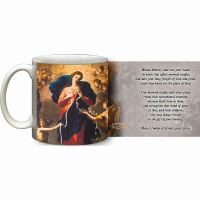 Mary Undoer of Knots Marriage Prayer Ceramic 11 Oz Mug