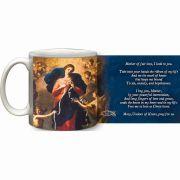 Mary Undoer of Knots General Prayer Ceramic 11 Oz Mug