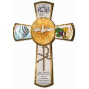 Personalized RCIA Gift Cross 10""