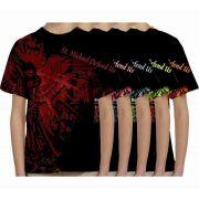 Saint Michael Defend Us Graphic Children's Poly T-Shirt