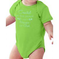 Image of God Baby Onesie Cuddly Cotton Creeper
