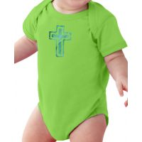 Cross Baby Onesie Cuddly Cotton Creeper