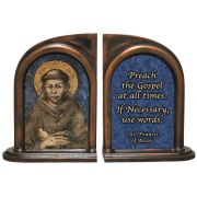 St. Francis of Assisi Bookends