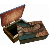Our Lady of Guadalupe Detail Keepsake Box