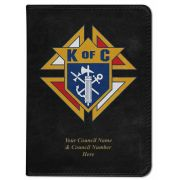 Personalized/Custom Text Bible Knights of Columbus Cover NABRE