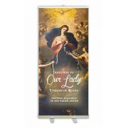 Custom Banner Stand 4 Size: 78x33 inch