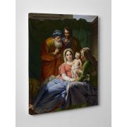 Holy Family with Grandparents Gallery Wrapped Canvas Wall Art