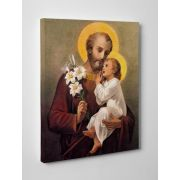 St. Joseph (Younger) Gallery Wrapped Canvas Wall Art