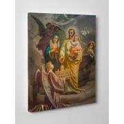Joseph, Patron of the Church Gallery Wrapped Canvas Wall Art