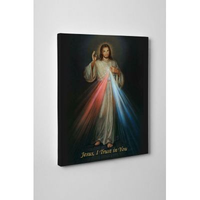Divine Mercy Gallery Wrapped Canvas Wall Art -  - GWC-35