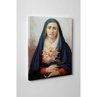 Our Lady of Quito Gallery Wrapped Canvas Wall Art