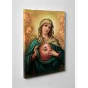 Immaculate Heart of Mary Gallery Wrapped Canvas Wall Art