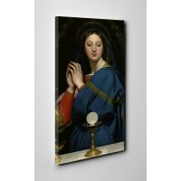 Madonna of the Host Gallery Wrapped Canvas Wall Art