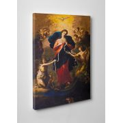 Mary Undoer of Knots Gallery Wrapped Canvas Wall Art