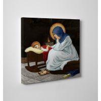 Divine Conversation Gallery Wrapped Canvas Wall Art