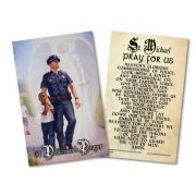 The Protector: Police Guardian Angel Holy Card w/Prayer to St. Michael